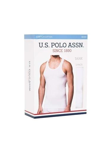 U.S. Polo Assn. U.S. Polo Assn. Erkek Siyah 2 Li Atlet Beyaz